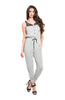 Trendy Sleeveless Slim Fit Jumpsuit - BodiLove | 30% Off First Order  - 3
