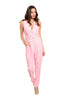 Sleeveless V-Neck Slim Fit Jumpsuit - BodiLove | 30% Off First Order - 5