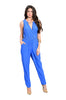 Sleeveless V-Neck Slim Fit Jumpsuit - BodiLove | 30% Off First Order - 3