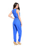 Sleeveless V-Neck Slim Fit Jumpsuit - BodiLove | 30% Off First Order - 4