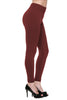Trendy Solid Color Fleece Leggings - BodiLove | 30% Off First Order  - 13