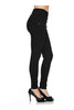 Tailored Millenium Skinny Dress Slacks - BodiLove | 30% Off First Order - 3 | Dark Black