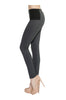 Skinny Ponte Dress Pants W/ Elastic Waistband - BodiLove | 30% Off First Order  - 2