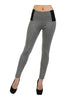 Skinny Ponte Dress Pants W/ Elastic Waistband - BodiLove | 30% Off First Order  - 3