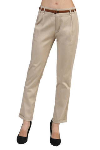 Tailored Professional Dress Pants W/ Belt