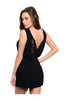 Tailored Romper W/ Lace Trimmed Back Detail - BodiLove | 30% Off First Order  - 2