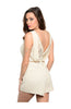 Tailored Romper W/ Lace Trimmed Back Detail - BodiLove | 30% Off First Order  - 4