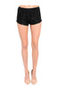 Crochet Lace Jogger Shorts W/ Drawstring Waistband - BodiLove | 30% Off First Order  - 1