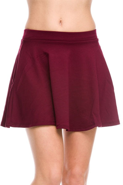 Flared A Line Skirt Bodilove Fashion Store