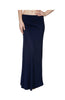 Solid Color High Waisted Maxi Skirt - BodiLove | 30% Off First Order  - 3