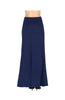 Solid Color High Waisted Maxi Skirt - BodiLove | 30% Off First Order  - 4
