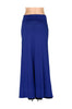 Solid Color High Waisted Maxi Skirt - BodiLove | 30% Off First Order  - 20
