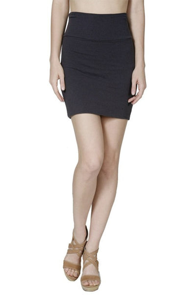 Solid Bandage Bodycon Mini Skirt - BodiLove | 30% Off First Order  - 1
