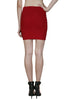 Solid Bandage Bodycon Mini Skirt - BodiLove | 30% Off First Order  - 7