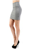 Solid Bandage Bodycon Mini Skirt - BodiLove | 30% Off First Order  - 5