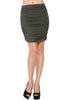 Dressy Ruched Bodycon Mini Skirt - BodiLove | 30% Off First Order  - 13