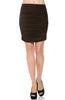 Dressy Ruched Bodycon Mini Skirt - BodiLove | 30% Off First Order  - 9