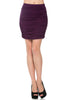 Dressy Ruched Bodycon Mini Skirt - BodiLove | 30% Off First Order  - 17