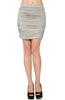 Dressy Ruched Bodycon Mini Skirt - BodiLove | 30% Off First Order  - 21