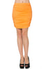 Dressy Ruched Bodycon Mini Skirt - BodiLove | 30% Off First Order  - 25