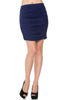 Dressy Ruched Bodycon Mini Skirt - BodiLove | 30% Off First Order  - 5