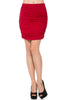 Dressy Ruched Bodycon Mini Skirt - BodiLove | 30% Off First Order  - 29