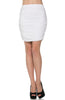 Dressy Ruched Bodycon Mini Skirt - BodiLove | 30% Off First Order  - 37