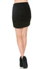Dressy Ruched Bodycon Mini Skirt - BodiLove | 30% Off First Order  - 2