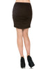 Dressy Ruched Bodycon Mini Skirt - BodiLove | 30% Off First Order  - 10