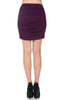 Dressy Ruched Bodycon Mini Skirt - BodiLove | 30% Off First Order  - 18