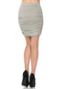 Dressy Ruched Bodycon Mini Skirt - BodiLove | 30% Off First Order  - 22