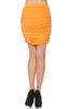 Dressy Ruched Bodycon Mini Skirt - BodiLove | 30% Off First Order  - 26