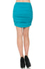 Dressy Ruched Bodycon Mini Skirt - BodiLove | 30% Off First Order  - 34