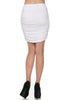 Dressy Ruched Bodycon Mini Skirt - BodiLove | 30% Off First Order  - 38