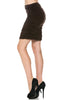 Dressy Ruched Bodycon Mini Skirt - BodiLove | 30% Off First Order  - 11