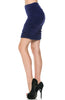 Dressy Ruched Bodycon Mini Skirt - BodiLove | 30% Off First Order  - 7