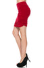 Dressy Ruched Bodycon Mini Skirt - BodiLove | 30% Off First Order  - 31