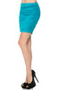 Dressy Ruched Bodycon Mini Skirt - BodiLove | 30% Off First Order  - 35