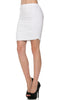 Dressy Ruched Bodycon Mini Skirt - BodiLove | 30% Off First Order  - 39