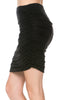 Dressy Ruched Bodycon Mini Skirt - BodiLove | 30% Off First Order  - 4