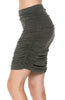 Dressy Ruched Bodycon Mini Skirt - BodiLove | 30% Off First Order  - 16