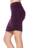 Dressy Ruched Bodycon Mini Skirt - BodiLove | 30% Off First Order  - 20