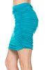 Dressy Ruched Bodycon Mini Skirt - BodiLove | 30% Off First Order  - 36