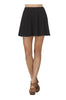 Flared A-Line Skater Skirt | 30% Off First Order | Black