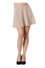 Flared A-Line Skater Skirt | 30% Off First Order | Taupe
