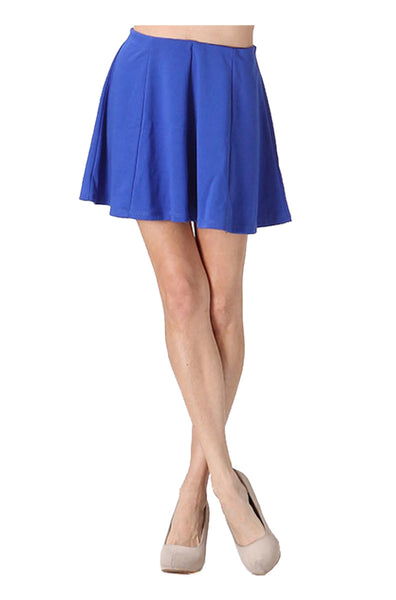 Flared A-Line Skater Skirt | 30% Off First Order | Royal Blue