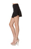 Zipper Front Fit & Flare Mini Skirt - BodiLove | 30% Off First Order  - 3