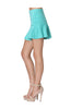 Zipper Front Fit & Flare Mini Skirt - BodiLove | 30% Off First Order  - 8