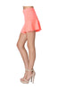 Zipper Front Fit & Flare Mini Skirt - BodiLove | 30% Off First Order  - 10