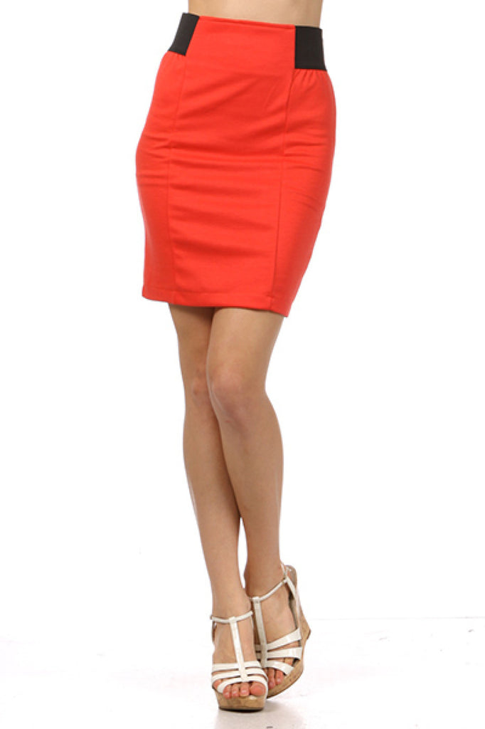 High Waisted Bodycon Pencil Skirt - BodiLove | 30% Off First Order  - 4